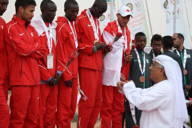 Bahraini athletes lift gold in Sharjah
