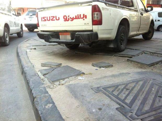 Dug-up roads 'risking lives' of people