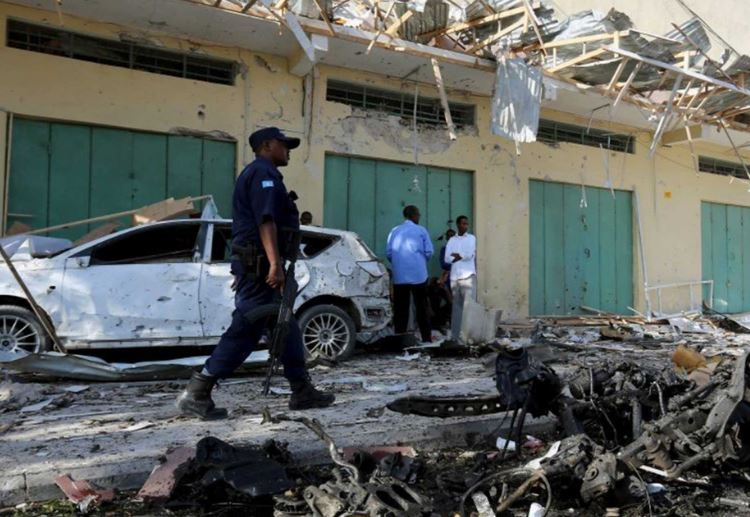Blast in Somalia kills 34 in Mogadishu marketplace
