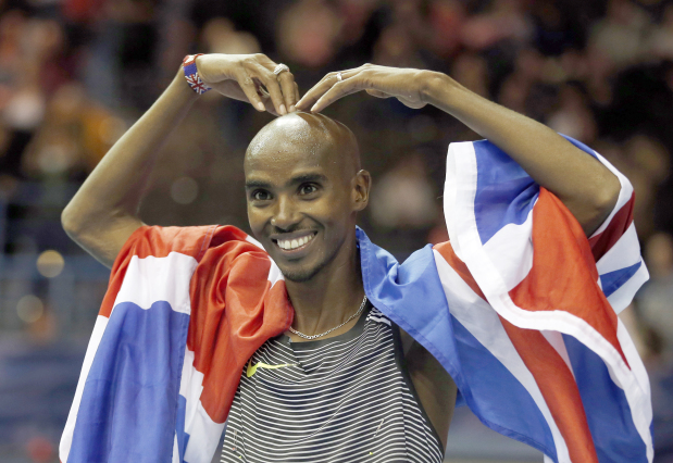 Farah sets European record