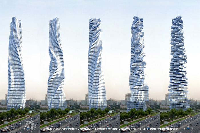 Dubai to be home to world's first rotating skyscraper