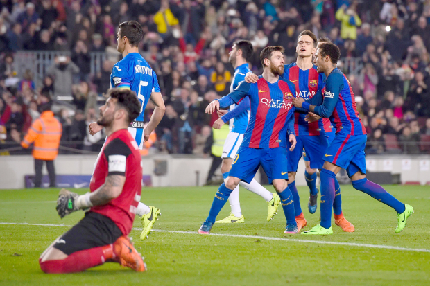 Messi penalty rescues Barca