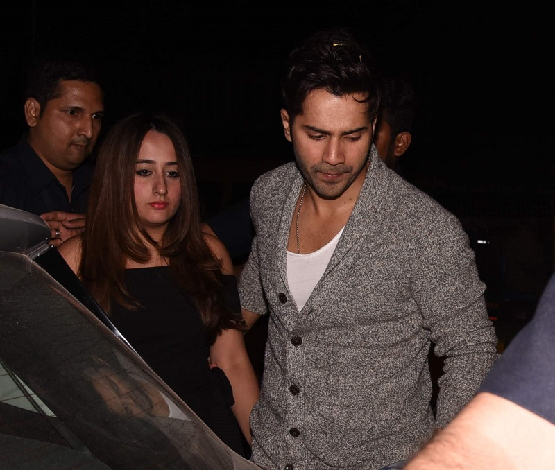 Shahid's Birthday Bash: Couples Varun-Natasha, Sid-Alia walk in hand-in-hand!