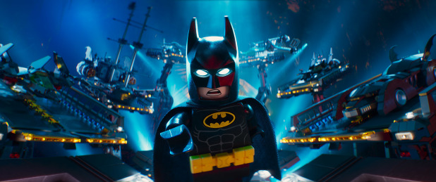 'Lego Batman' stays No. 1, conquers 'The Great Wall'