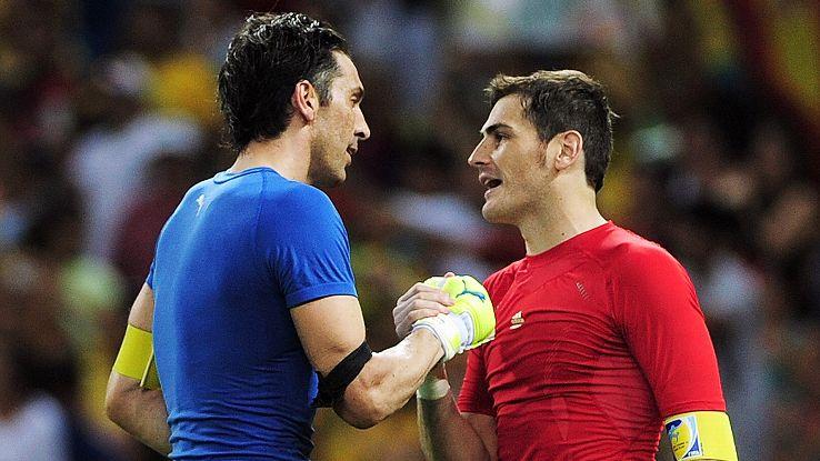 Casillas and Buffon renew rivalry
