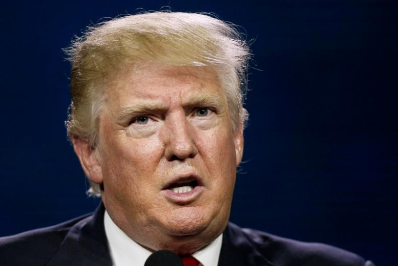 Trump visit row