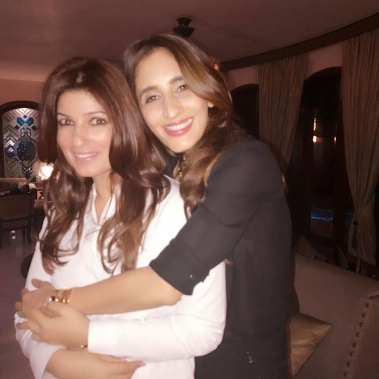 Twinkle Khanna, Suzzane Khan party with Dimple Kapadia in Hong Kong!