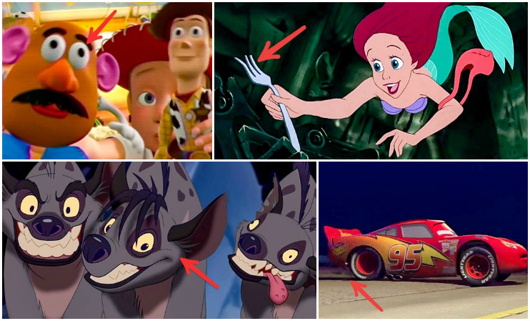 10 obvious MISTAKES from animated movies that you might have missed!