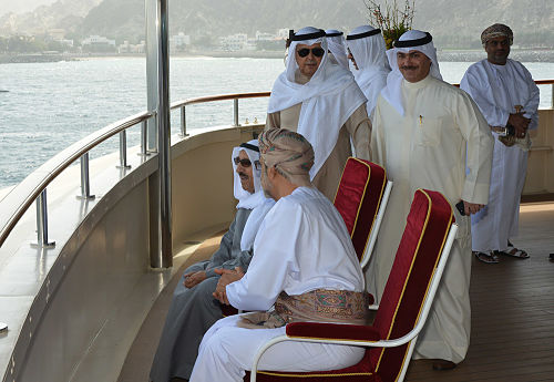 In Pictures: Kuwaiti Amir on yacht trip in Oman
