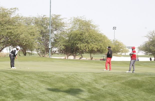 Bahrain men lead in GCC golf clash