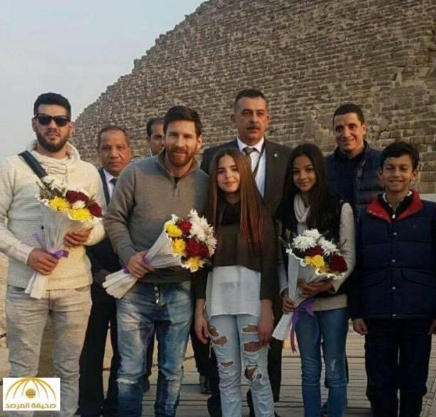 In Pictures: Lionel Messi in Egypt