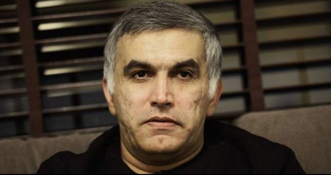 Nabeel Rajab's interviews screened in court  as part of evidence