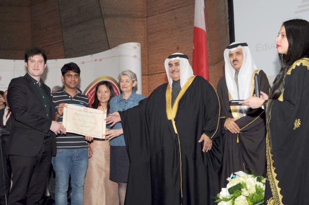 Unesco King Hamad prize awarded to two NGOs