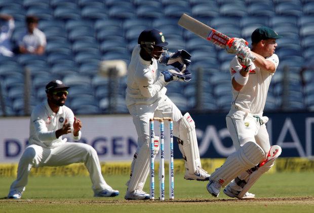 Warner wicket, Renshaw sickness halts Aussie charge
