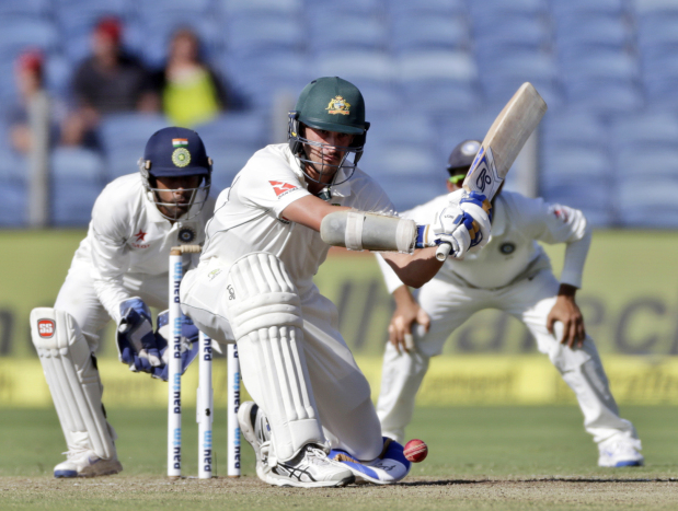 Starc's 57 lifts Aussies to 256-9 after day one vs India