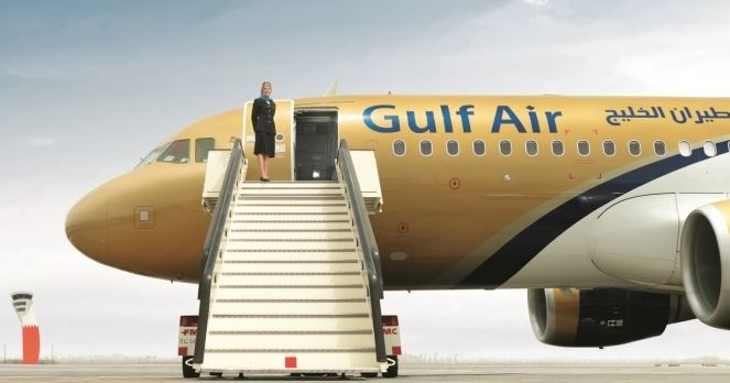 Unruly Gulf Air passenger arrested on arrival in London