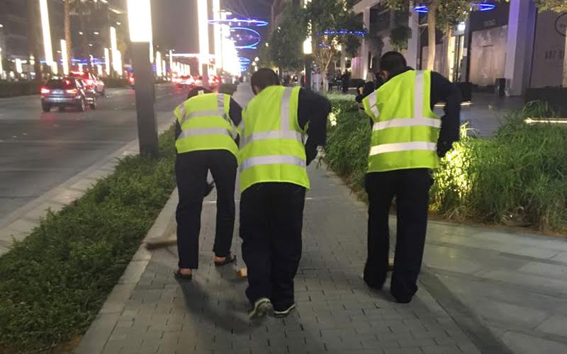 Dubai Ruler orders reckless driver to clean streets for a month