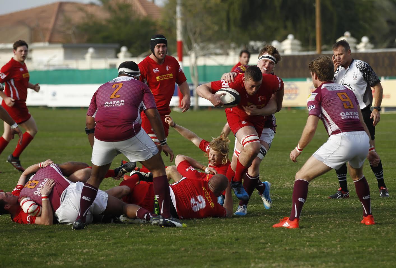 Rugby: Bahrain survive Doha challenge