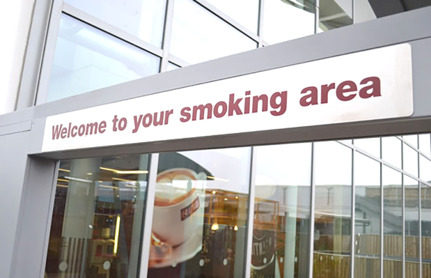 Designated smoking areas in government buildings planned