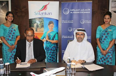Al Ansari Exchange partners with SriLankan Airlines
