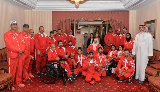 Bahrain bag 15 medals in Asian Paralympic Games
