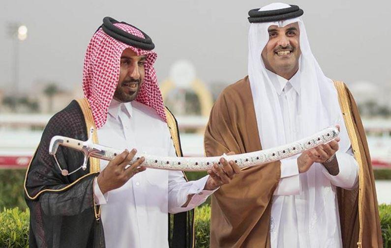Qatari leader attends Sword Equestrian Festival