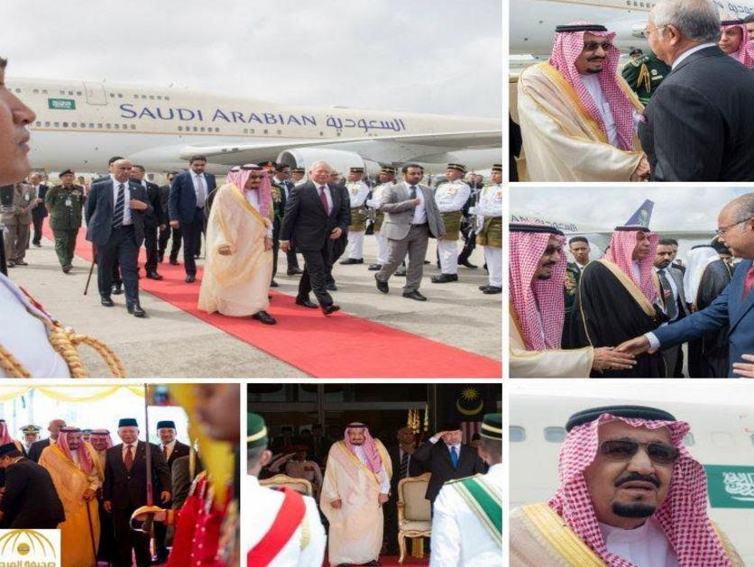 In Pictures: Saudi King arrives in Kuala Lumpur