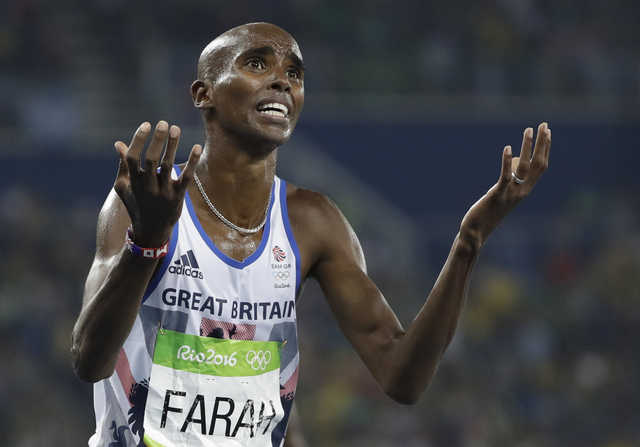 British Olympic champion Farah says 'drug misuse' claims upsetting