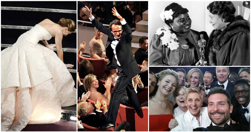 15 of the most UNFORGETTABLE moments in Oscars history!
