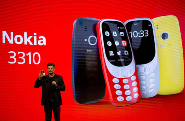 Nokia's revamped 3310 back for $52