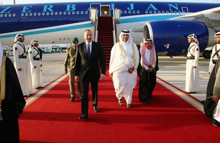 President of the Republic of Azerbaijan on state visit to Qatar
