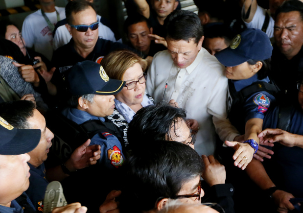 Detained Philippine senator asks court to nullify arrest