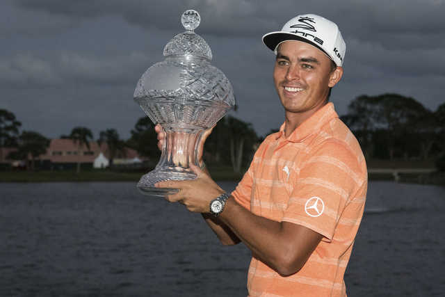 Golf: Gallant Fowler claims trophy