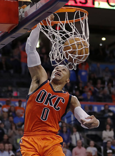 Westbrook seals Thunder win