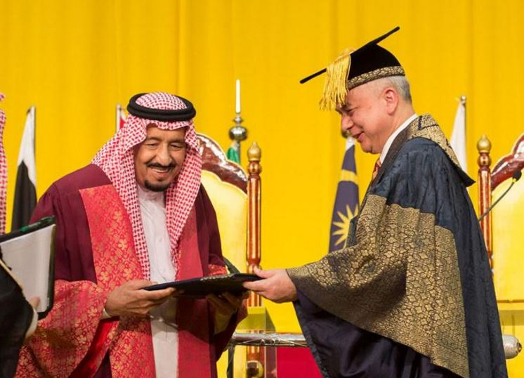 In Pictures: Saudi King granted honorary doctorate in literature
