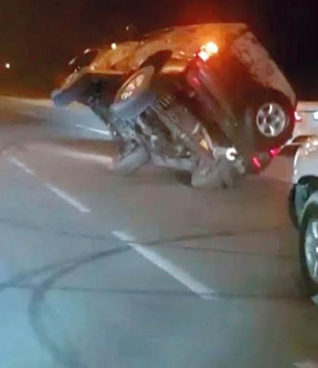 Driver who performed dangerous stunts to impress relatives caught in Sharjah