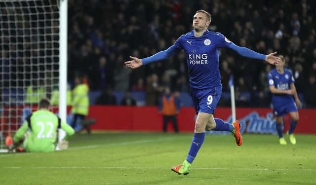 Leicester put down Liverpool