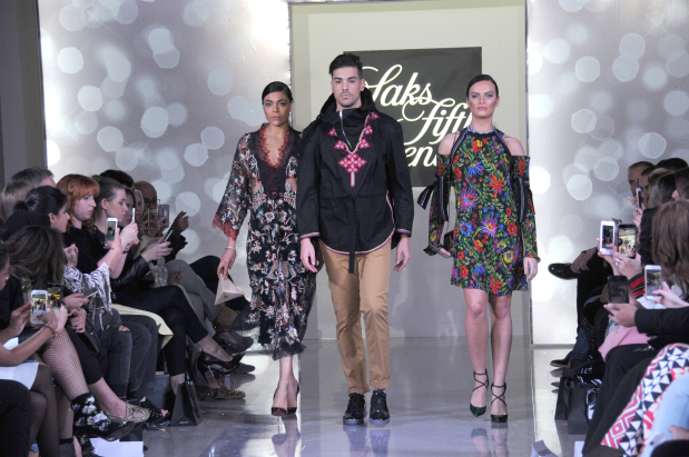 Top designers showcase work at Saks Fifth Avenue fashion show