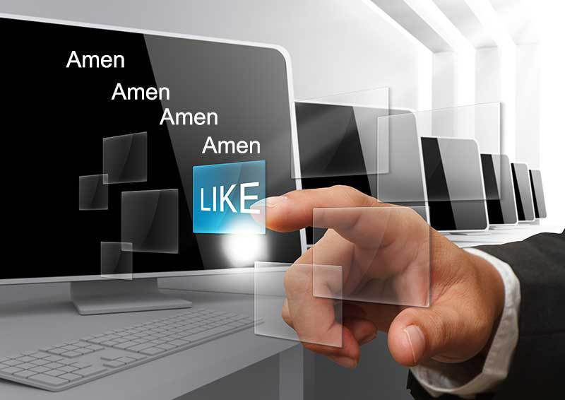 Here's the reason why you shouldn't type 'Amen' on a Facebook post