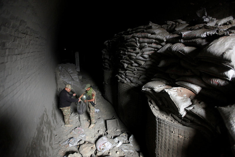 Mosul train tunnel reveals assault course for elite IS fighters