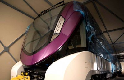 Alstom hands over first trainset for Riyadh Metro