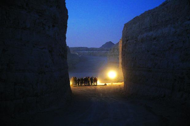 Unique concert in a quarry...