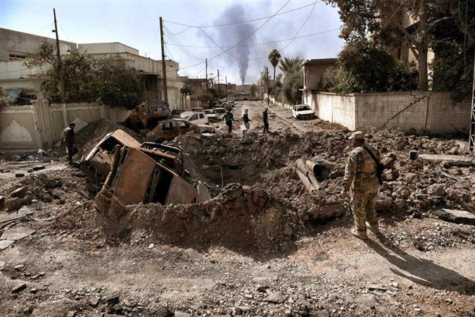 Daring night-time raid turns to deadly trap in Mosul