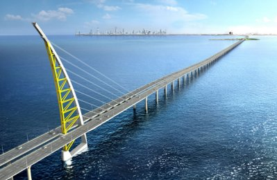 $3bn Kuwait causeway on track for 2018 opening