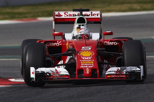 Vettel sets fastest preseason lap for Ferrari