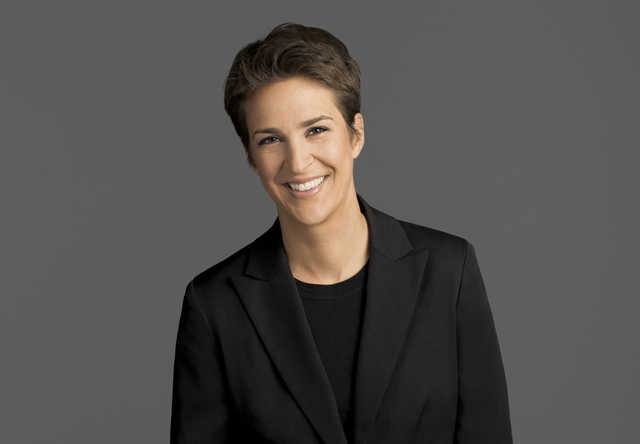 Fueled by Trump opponents, Maddow's popularity rises