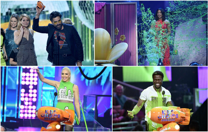 In Pictures: 'Ghostbusters', Kevin Hart win big at Kids' Choice Awards