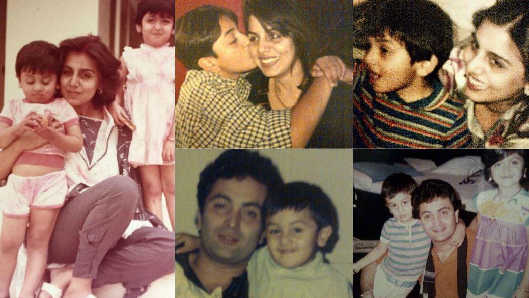 Photos: A peek into Ranbir Kapoor's childhood through mum's Instagram