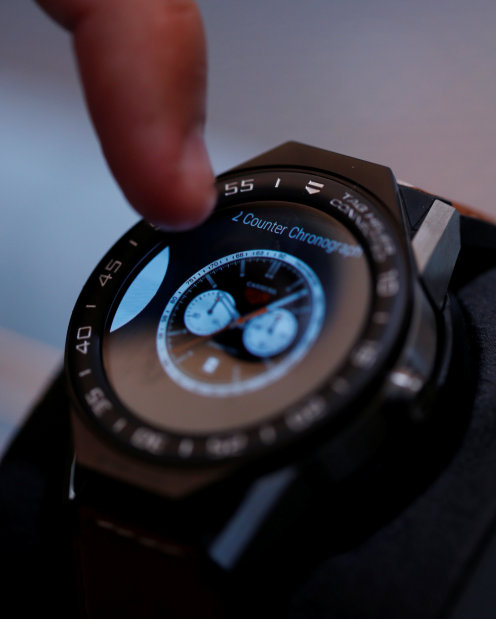 Photos: Connected or mechanical? TAG Heuer tries to bridge gap with module watch