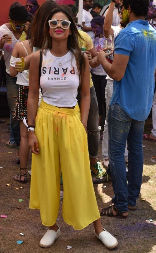 Photos: TV stars enjoying holi at Ekta Kapoor's party